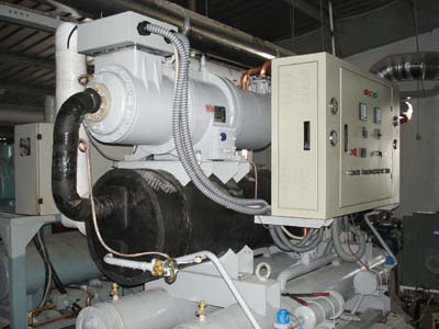 Lắp đặt máy làm lạnh nước trục vít