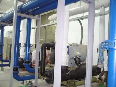 Lắp đặt phòng máy làm lạnh nước