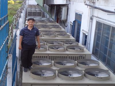 Lắp đặt liên hoàn máy làm lạnh nước