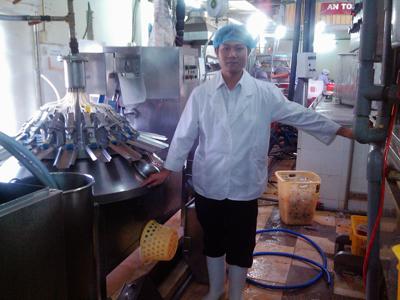 Nhà máy chế biến thực phẩm Hàn Quốc