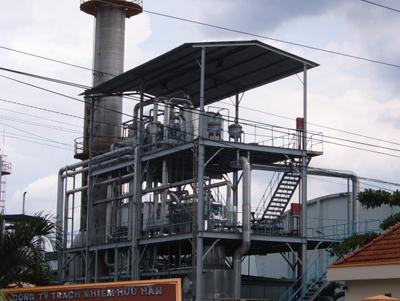 Nhà máy hóa keo Singapore