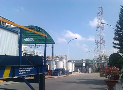 Nhà máy nguyên liệu hóa nông